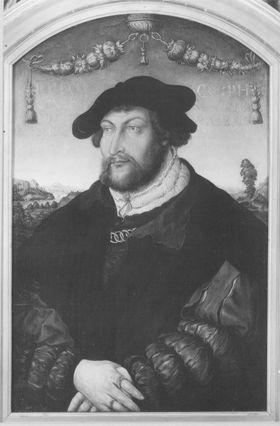 Bildnis Pfalzgraf Johann III., Administrator des Bistums Regensburg