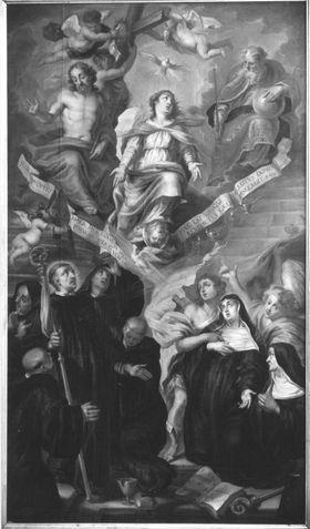 Allegorie auf den hl. Benedikt und die hl. Scholastika