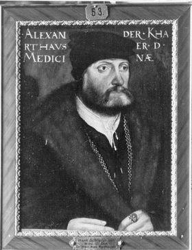 Bildnis des Arztes Alexander Karthauser