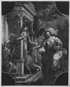 Jungfrauen schmücken einen Tempel