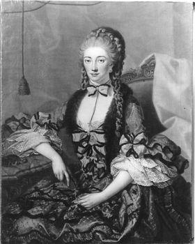 Bildnis einer Dame, wohl Mlle Verneuil