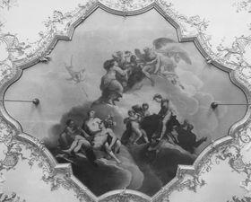 Allegorie des Herrscherlebens (Deckenbild)