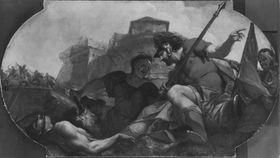 Allegorie auf den Schrecken des Krieges
