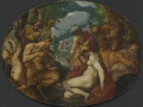 Satyrn und Nymphen