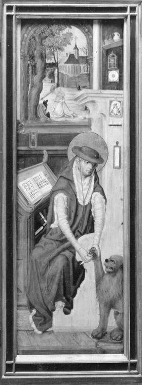 Aschaffenburger Triptychon: Der hl. Hieronymus