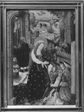 Aschaffenburger Triptychon: Geburt Christi