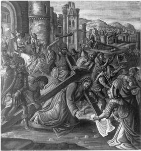 Kreuztragung Christi (nach älterem Vorbild)
