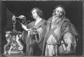 Allegorie auf die Lehrtätigkeit des hl. Augustinus