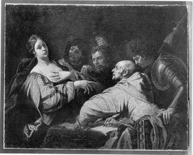Tomyris mit dem Haupt des Cyrus