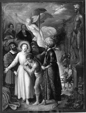 Martyrium des hl. Laurentius (nach Elsheimer)