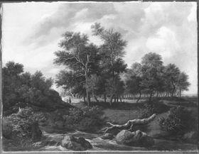 Landschaft mit Gießbach