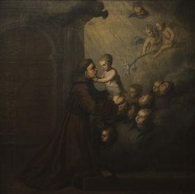 Hl. Antonius von Padua mit Christuskind