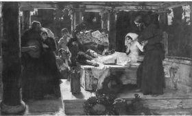 Die Erweckung der Tochter des Jairus