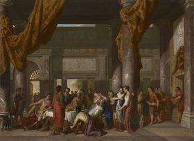 Marcus Antonius beim Festmahl der Kleopatra