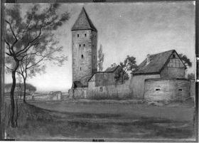 Ansicht von Gelnhausen - Der Turm I