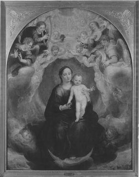 Marienaltar: Maria mit dem Christuskind