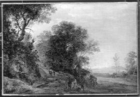 Wald- und Flusslandschaft