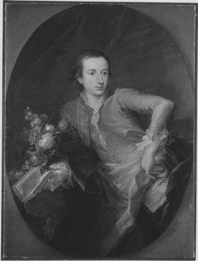 Franz Ludwig Freiherr von Erthal als junger Mann