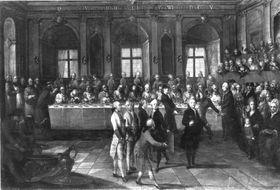 Die Gründonnerstag-Fußwaschung in Mainz unter Kurfürst Friedrich Karl von Erthal