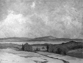 Blick auf Peissenberg
