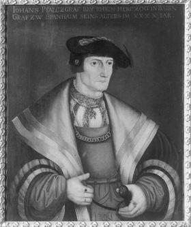 Pfalzgraf Johann II. von Simmern-Sponheim