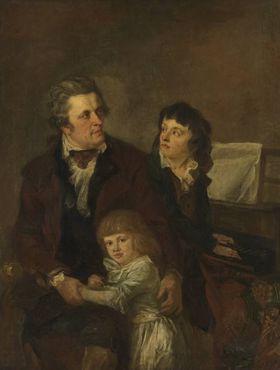 Buchhändler Strobl und seine Kinder