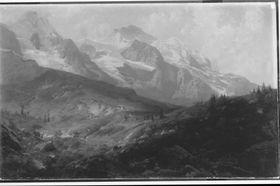 Auf der Kleinen Scheidegg, im Hintergrund Eiger und Jungfrau