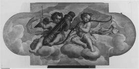 Engel mit Bogen und Köcher