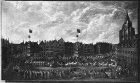 Einzug des Joseph Clemens in Lille