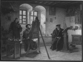 Cranach malt Luther