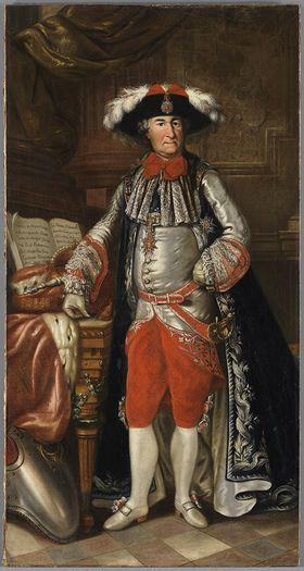 Bildnis des Kurfürsten Carl Theodor von Bayern als Großmeister des St. Georg-Ritterordens (1724-1799)