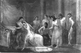 Mars und Venus, von den Göttern überrascht