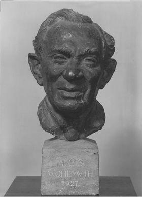 Der Schauspieler Alois Wohlmuth