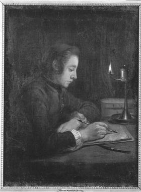 Zeichnender Junge