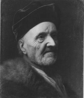 Bildnis eines alten Mannes im Pelz