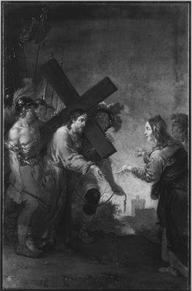 Christus begegnet seiner Mutter