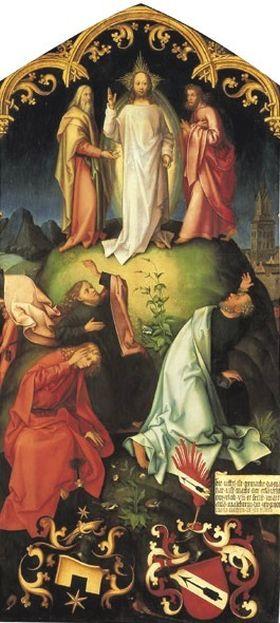 Epitaph der Schwestern Walther: Verklärung Christi