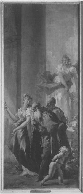 Allegorie der Befreiung vom Joch des Islam (Frieden und Glück unter Johann Wilhelm von der Pfalz)