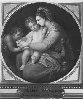 Madonna mit Kind und Johannesknaben