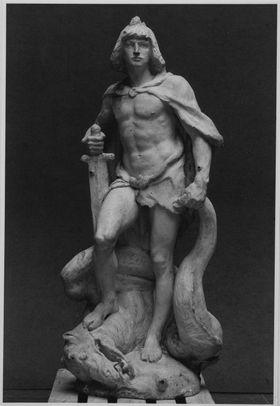 Siegfried (Gussmodell für den Siegfriedbrunnen in Worms)