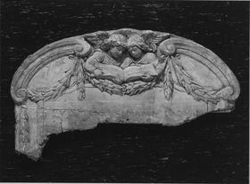 Modell für die Inschrifttafel am Mausoleum des Dirigenten Hermann Levi in Partenkirchen