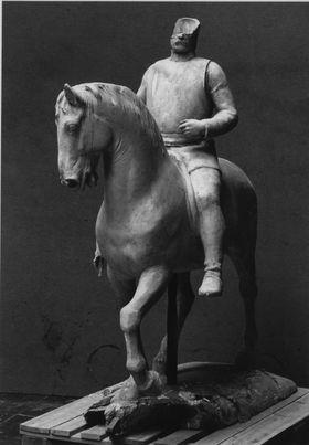 Modell für das Reiterstandbild Otto von Bismarcks in Bremen
