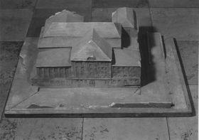 Modell für ein öffentliches Gebäude