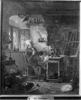 Der alte Dorfmaler