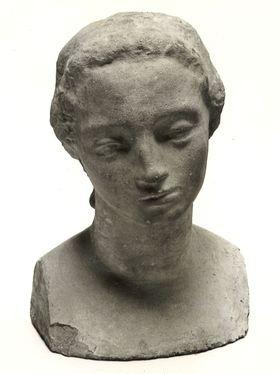 Mädchenkopf (Frau Lehmbruck?)