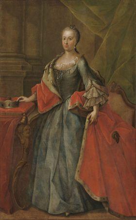 Bildnis der Maria Anna von Pfalz-Sulzbach, Gemahlin des Clemens Franz de Paula von Bayern
