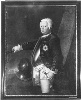 König Friedrich Wilhelm I. von Peußen