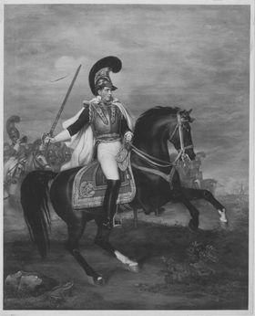 Prinz Carl von Bayern zu Pferd