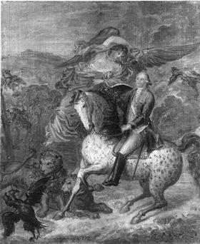 Ein Kurfürst zu Pferd
