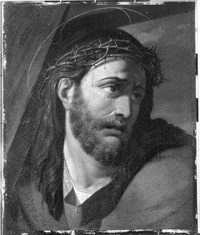 Kreuztragender Christus (nach Raffael)